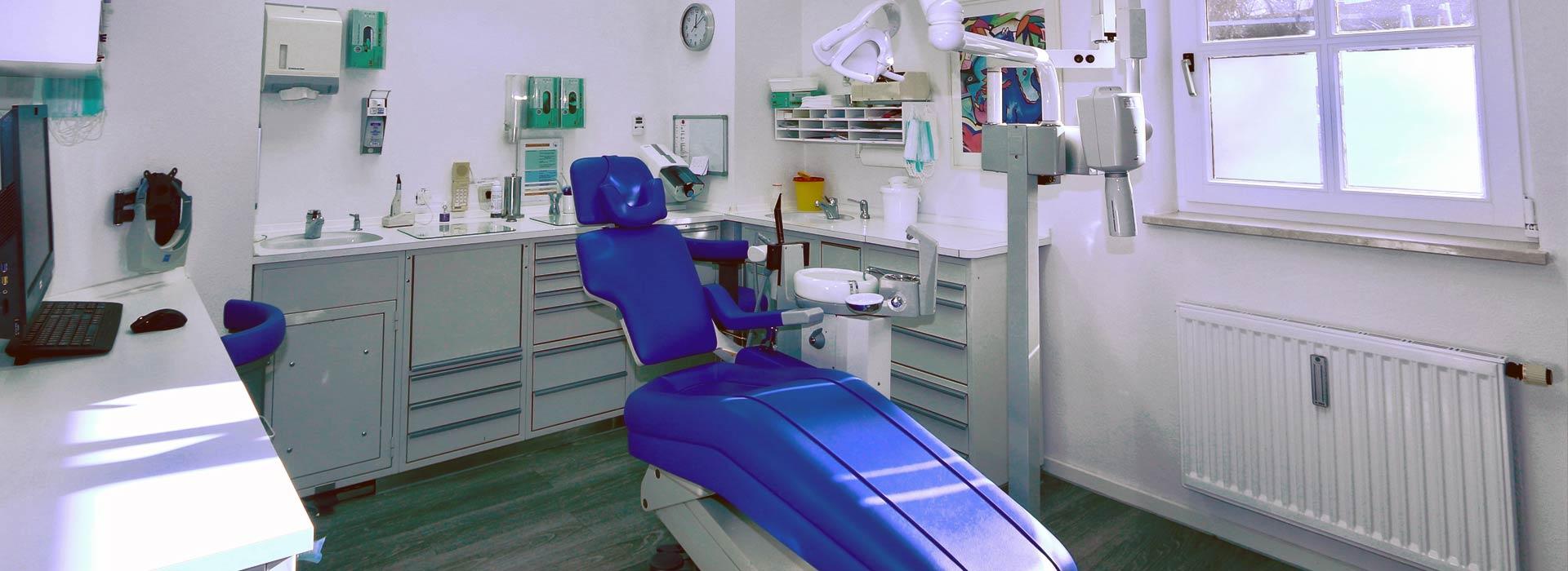 Behandlungszimmer 4 in der Zahnarztpraxis Münsing