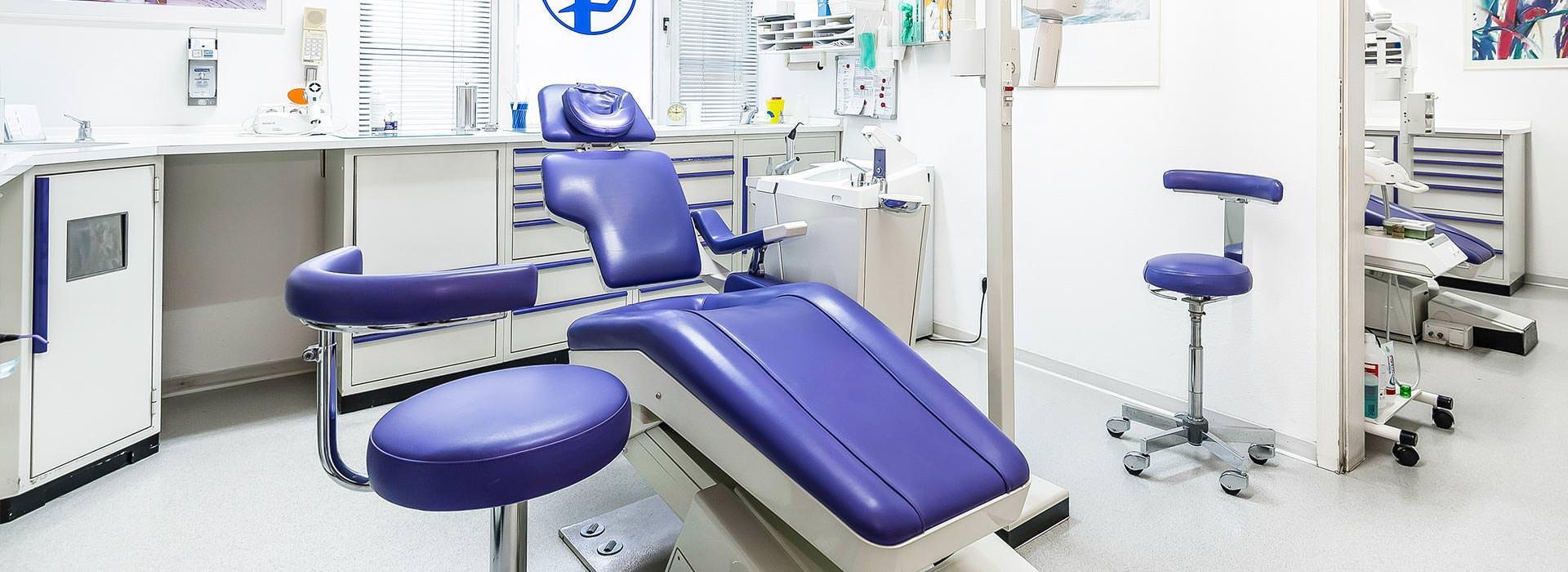Behandlungszimmer 8 in der Zahnarztpraxis Münsing